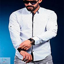 Белая Рубашка Мужская Под Джинсы Р-289
