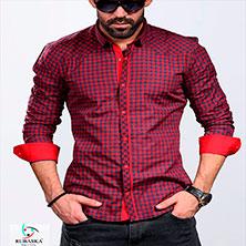 Красная Клетчатая Рубашка Р-293
