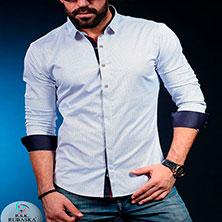 Мужская Рубашка под Джинсы Р-310