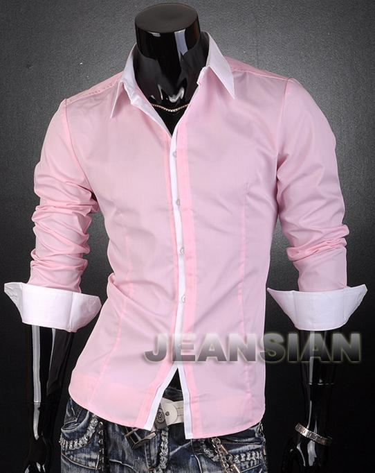 розовая рубашка мужская фото