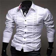 Стильная Белая Рубашка Р-82