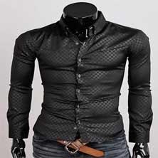 Модная Мужская Рубашка P-88