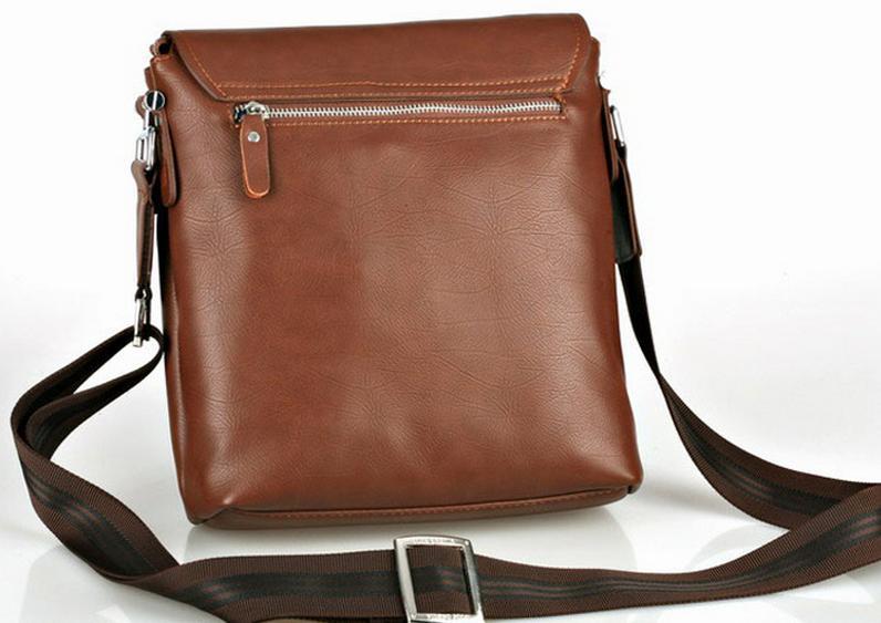 коричневая сумка в клетку : S