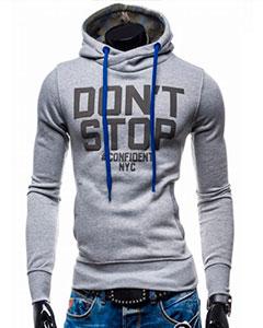 Молодежная Толстовка Dont Stop T-110