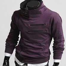 Фиолетовая Толстовка Т-5