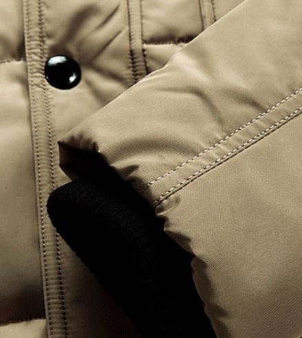 9142b4ffd32c Черная Зимняя Куртка на Парня Z-1318