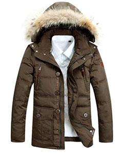 Мужская Зимняя Куртка с Мехом Z-1326