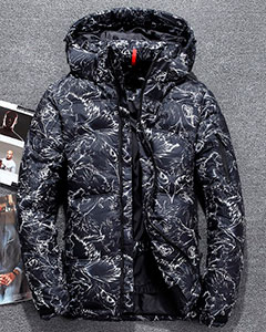 Стильная Мужская Зимняя Куртка Z-1341