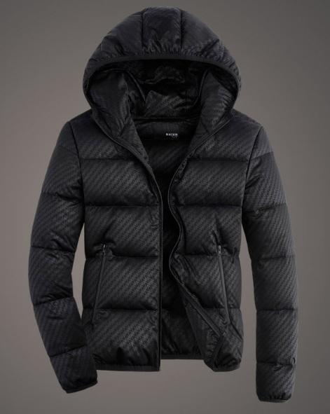 8c8d0dcf2e897 Стильная Мужская Зимняя Куртка Пуховик Z-1344
