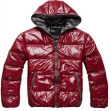 Красная Зимняя Куртка Z-1202