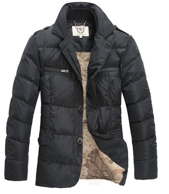 Зимняя Куртка Max James на Утином Пуху 0142b97031692